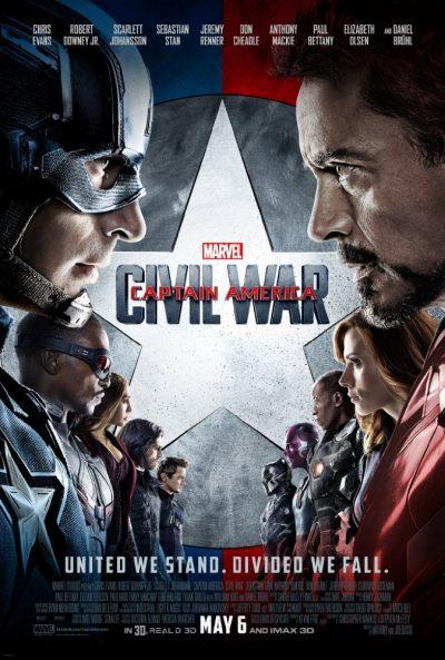 Captain America Občianska vojna online cz