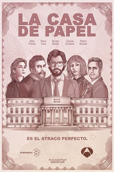 La casa de papel online seriál