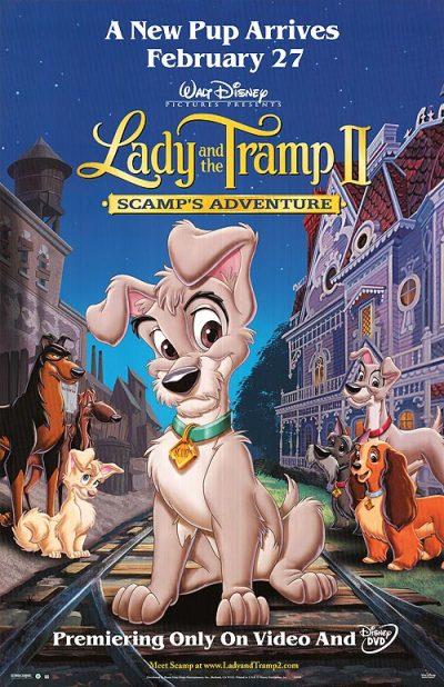 Lady a Tramp 2 Scampova dobrodružství online cz