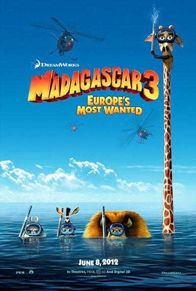 Madagaskar 3 online cz