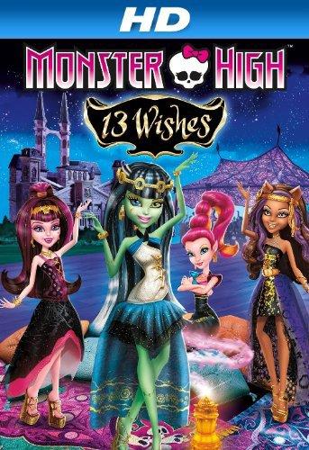 Monster High 13 přání online cz