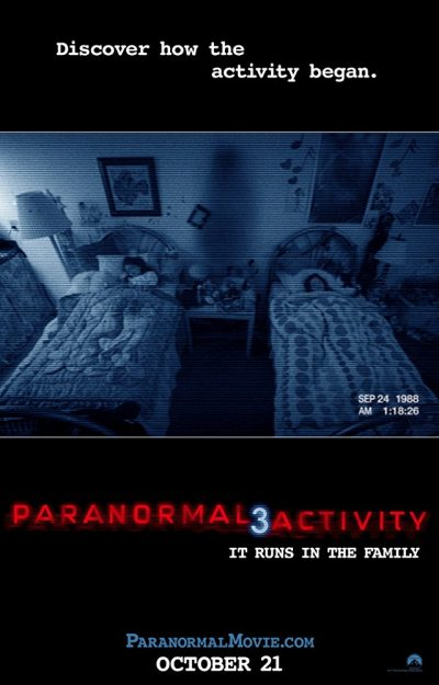 Paranormal Activity 3 online cz