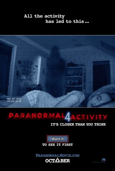 Paranormal Activity 4 online cz