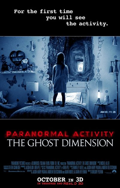 Paranormal Activity 5 Jiný rozměr online cz