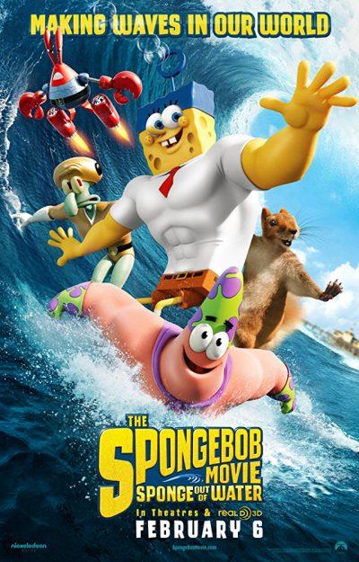 Spongebob vo filme Hubka na suchu online cz